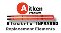 Parts Aitken Electric Infrared elements 2014