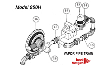 Heat Wagon 950H vapor train parts 2014