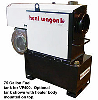 Heat Wagon VF400-tank