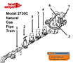 Heat Wagon 2730C Nat. Gas Pipe layout 110