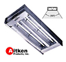 Aitken Quartz heater 2 element 90 degree