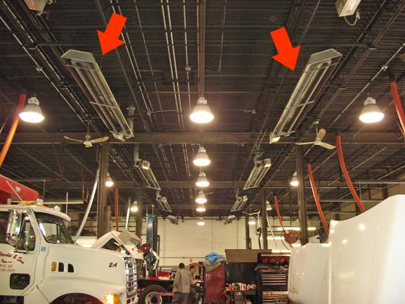 Spaceray Ltu Series Heaters U Tube On Penn Radiant