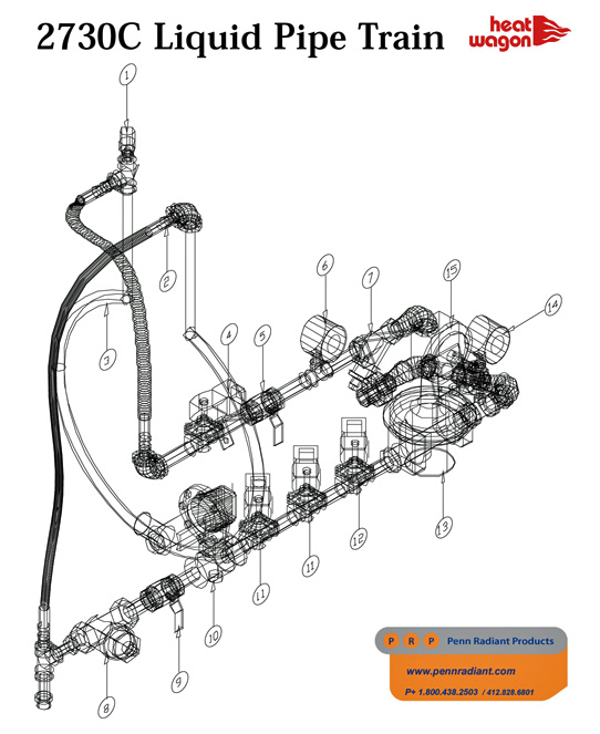 part   hwp hv1039  safety relief valve on penn radiant