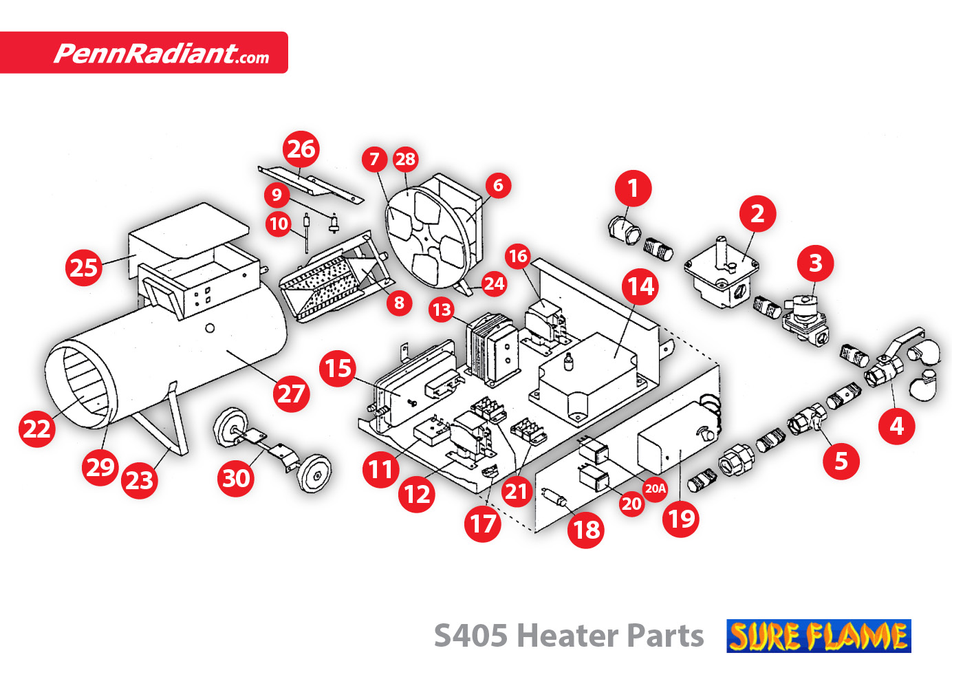 Radiant Heat Parts Big Buddy Heater Wiring Diagram Pictures Of
