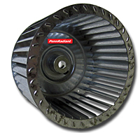 2014 Space Ray Sunstar LARGE blower wheel