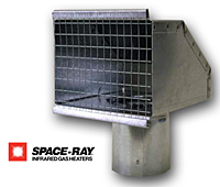 Space Ray exhaust hood 2021
