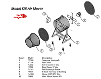 Heat Wagon i36 parts listing