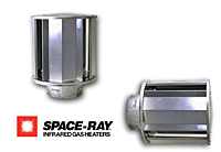 Space Ray side wall vent cap